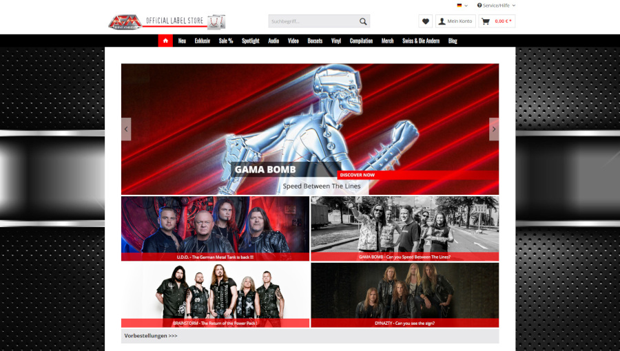 AFM Records Online Shop