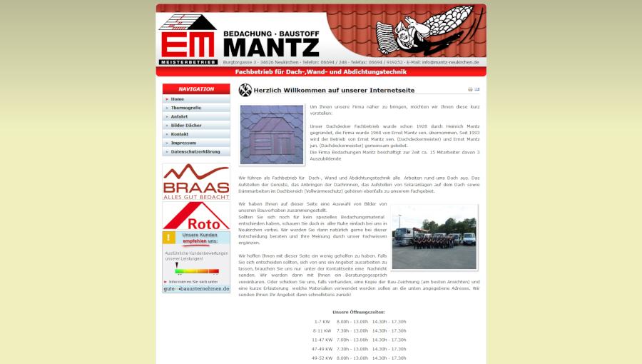 Bedachung Mantz GmbH