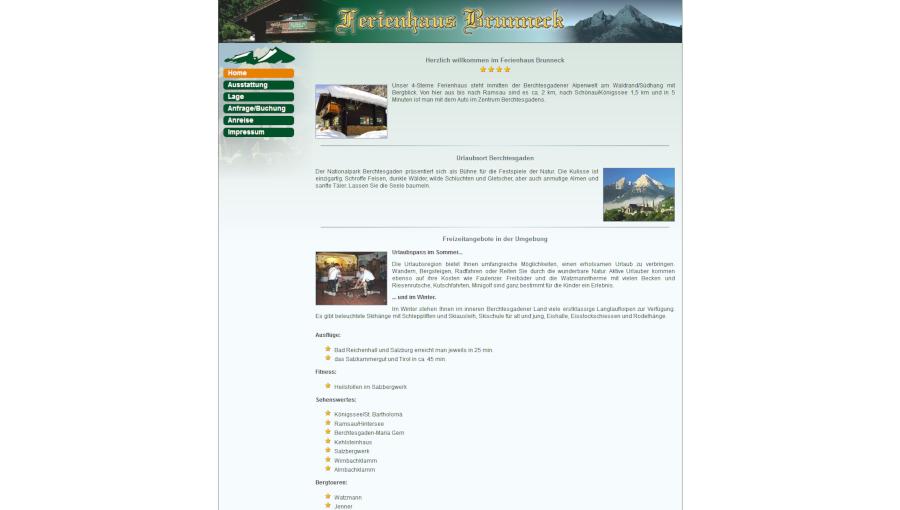 Ferienhaus Brunneck Berchtesgaden