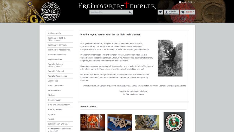 Freimaurer Templer