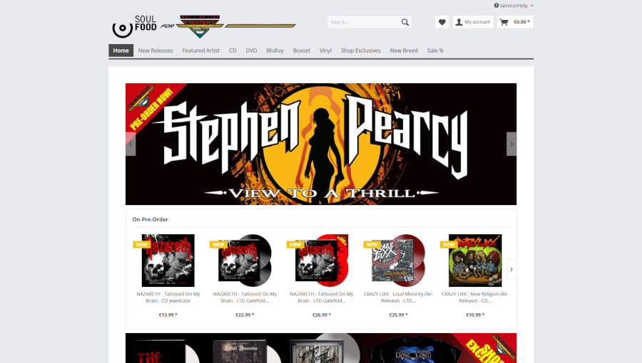 Frontiers Music Official Shop